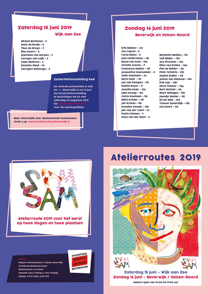 Atelierroute 2019 Beverwijk - Wijk aan Zee